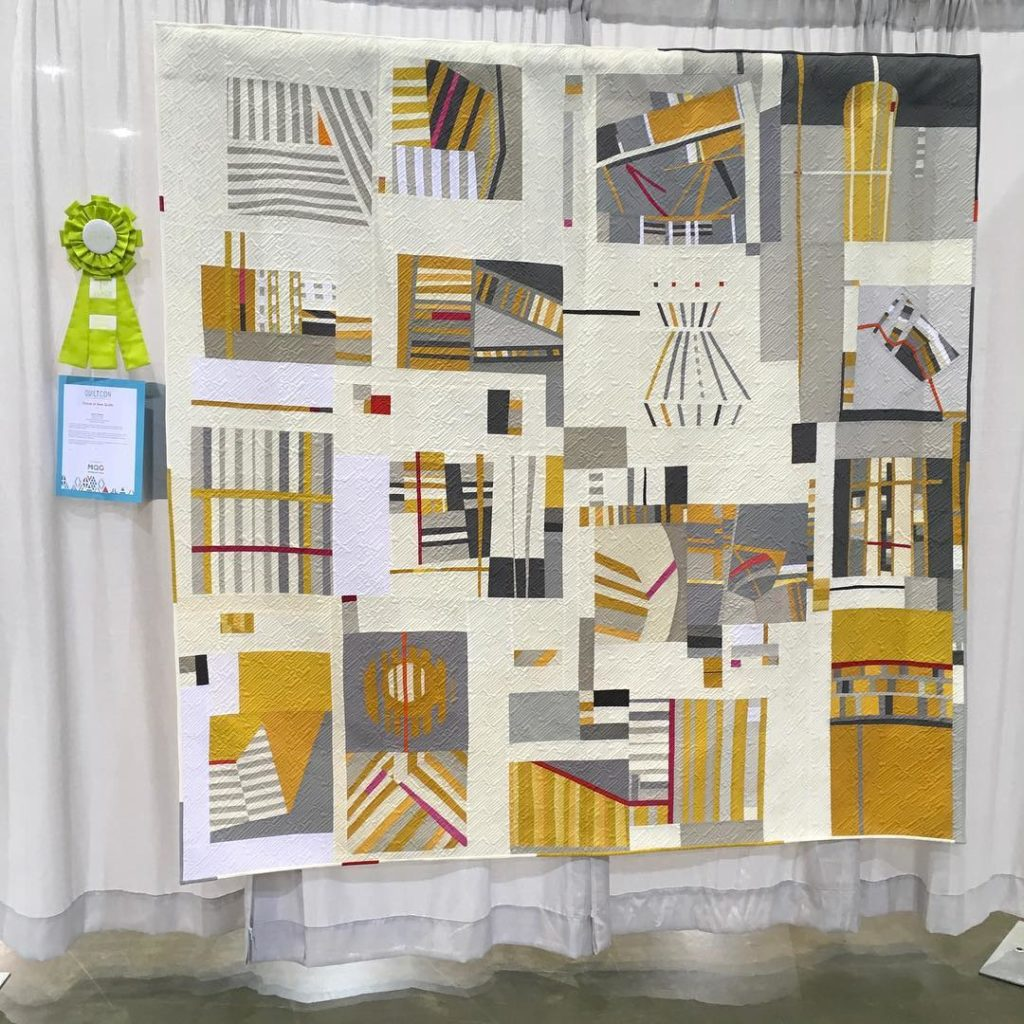 "QuiltCon BeeSewcial Winner ""Direction Optional"""