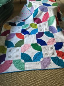 Betsy's Florid Blooms quilt