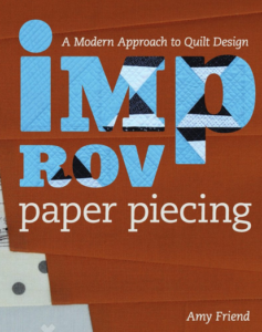 Improv Paper Piecing Book Cover
