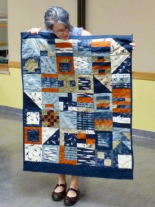 Quilt for Hurricane Charity