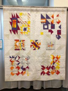 "DMMQG's ""Enigma Variations"" at QuiltCon 2018"