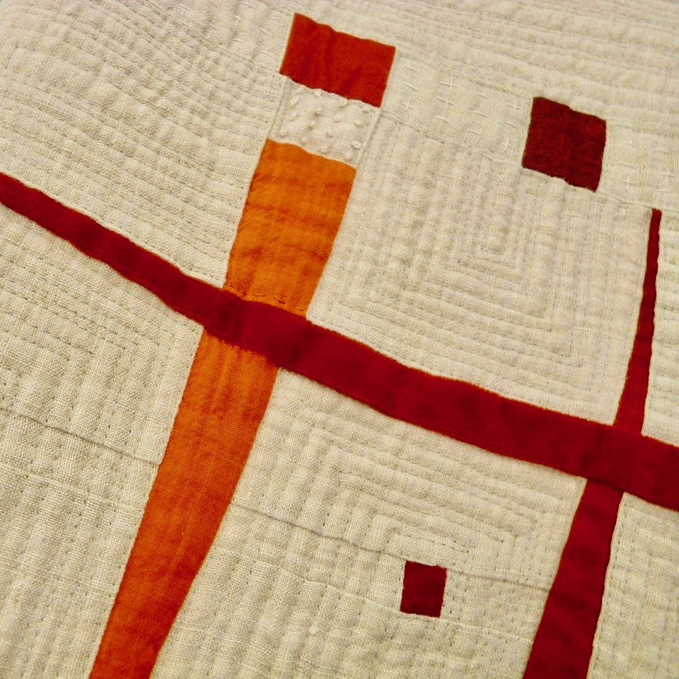 Sustainable Fabric Quilt by Stephanie Ruyle