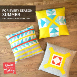 Summer Pillow Pattern: K. Vojtechovsky photo