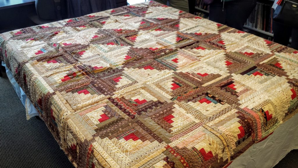 Inspiration Quilt: Log Cabin