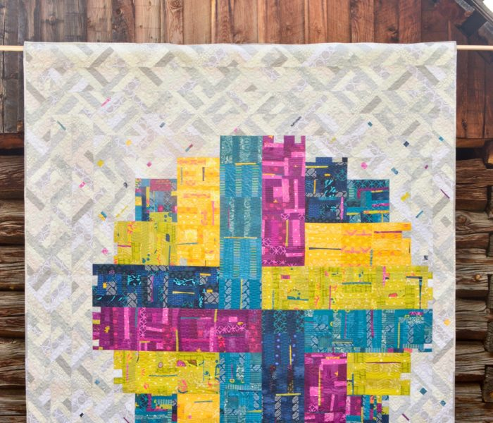 """""""How New is Modern?"""" Log Cabin Quilts"""